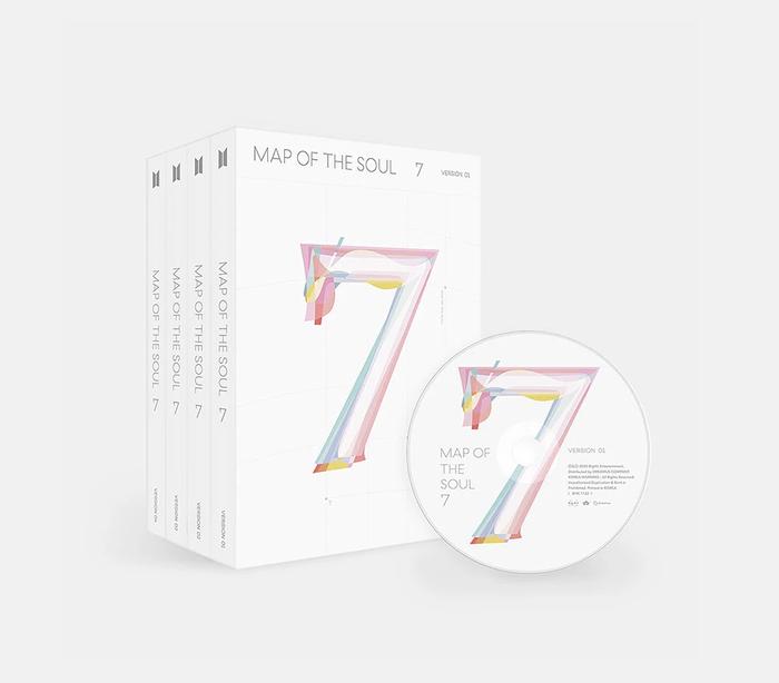 Map Of The Soul:7 xuất sắc đạt 5 triệu bản chỉ sau 1 tháng phát hành.