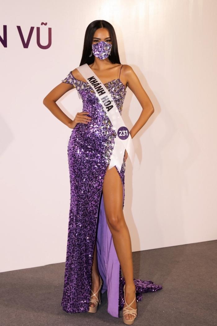 Lê Hoàng Phương – Top 10 Miss Universe Vietnam 2019.