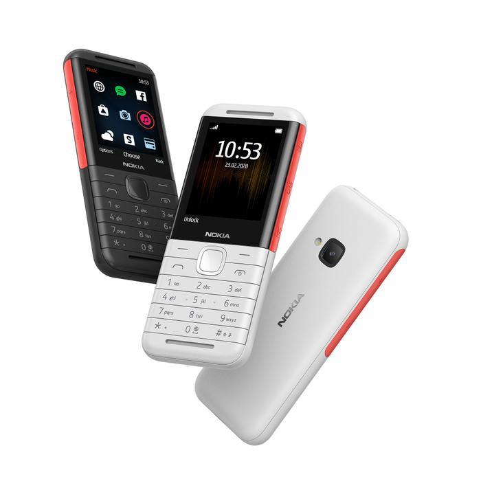 Nokia 5310 là sản phẩm được tái hiện lại theo phong cách Nokia 5310 Xpress Music đời đầu,mẫu điện thoại từng gây sốt của Nokia khi ra mắt năm2007.