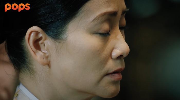 Đoàn Viên lặng đi sau cái chết của con trai Hồng Thụ.