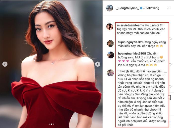 Lương Thùy Linh được hội fan ủng hộ thi Hoa hậu Hoàn vũ vì nhan sắc thăng hạng rõ rệt