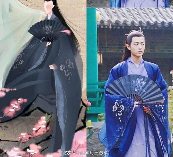 Xuân nhật yến tung poster, fan đoán diễn viên chính là Tiêu Chiến và Trịnh Sảng vì ảnh miêu tả quá giống! ảnh 1