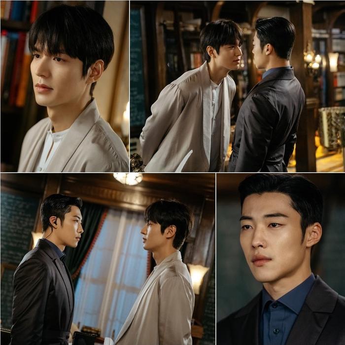 Bức ảnh tạo ra một phản ứng hóa học cho cặp đôi Lee Min Ho và Woo Do Hwan