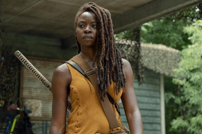 The Walking Dead: Sau Rick Grimes, đến lượt Michonne sắp có phần phim riêng?