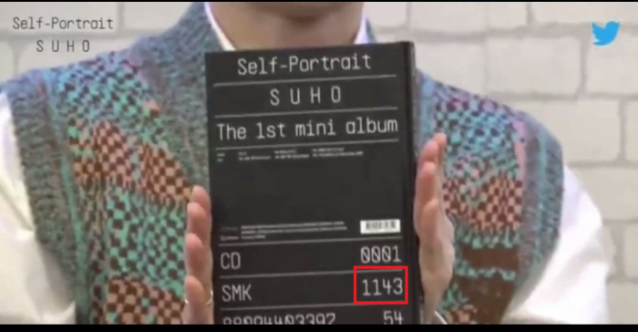 Livestream 'thả thính' về sản phẩm mới, fan có thêm manh mối về ý nghĩa đặc biệt con số trên bìa album solo 'Self-Portrait' của Suho (EXO)