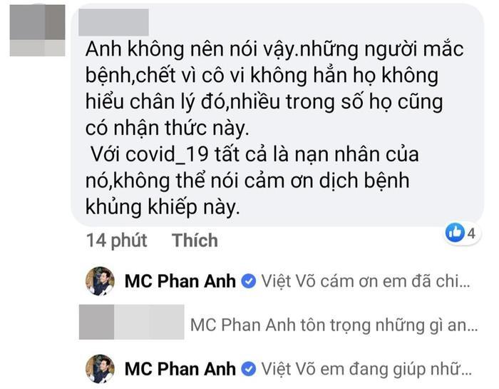 Dân mạng nổi đoá với phát ngôn của MC Phan Anh: Cảm ơn đại dịch Covid-19 ảnh 2