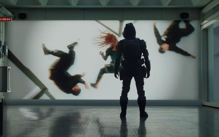 Taskmaster đang nghiên cứu cách đánh của Black Widow