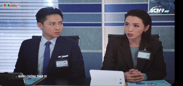 Trần Vỹ thể hiện vai diễn Thuỷ Tuệ Minh trong phong thái đĩnh đạc, có trình độ.