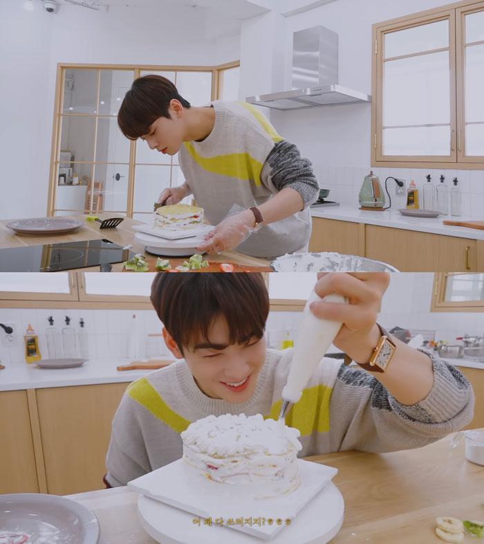 Điều này đã chứng tỏ 100% Cha Eunwoo (ASTRO) là cậu con trai hiếu thảo! ảnh 0