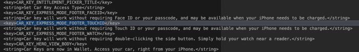 Những đoạn mã cho thấy sự tồn tại của iPhone 9 trong iOS 13.4.5. (Ảnh: 9to5Mac)