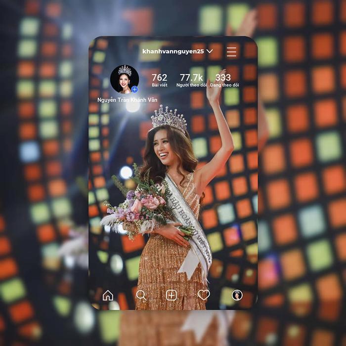 Hoa hậu Hoàn vũ Việt Nam 2019 - Nguyễn Trần Khánh Vân đang là mỹ nhân được quan tâm nhất nhì showbiz.