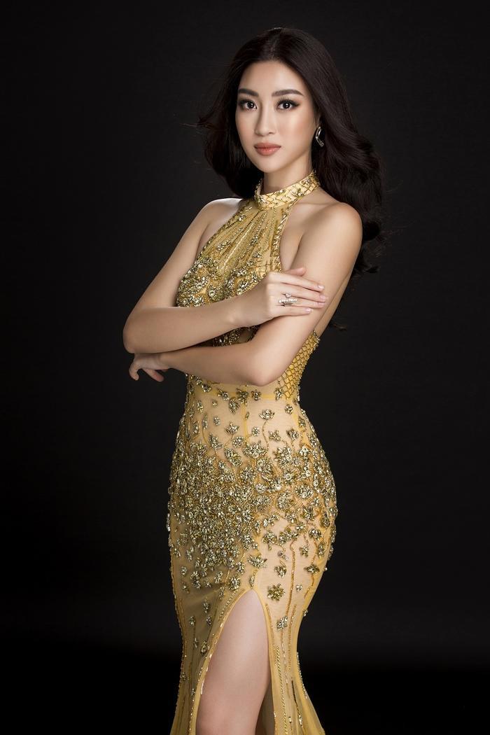 Đến với cuộc thi Miss World 2017, Đỗ Mỹ Linh toát ra một phong thái rất tự tin và bản lĩnh. Vào đêm chung kết, cô đã lựa chọn bộ váy màu vàng hoàng gia xẻ đùi để giúp mình tỏa sáng. Không trái với kì vọng của khán giả, Đỗ Mỹ Linh đã xuất sắc vào Top 40 chung cuộc bên cạnh giải thưởng Người đẹp nhân ái.