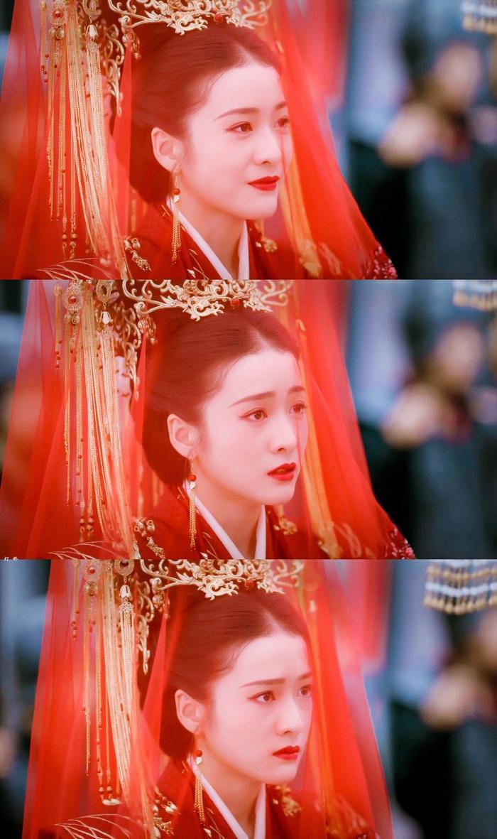"""Trương Tuyết Nghênh trong phim """"Bạch Phát Vương phi""""."""