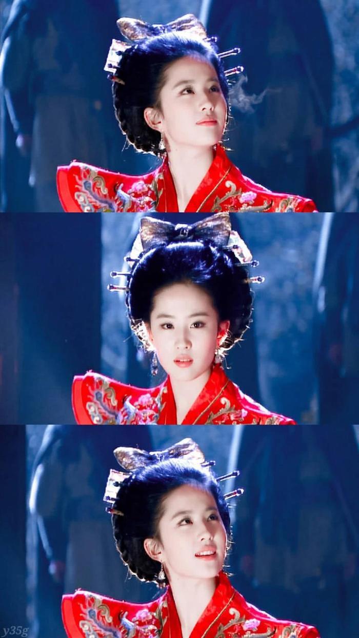 """Lưu Diệc Phi trong phim """"Thần Điêu đại hiệp""""."""