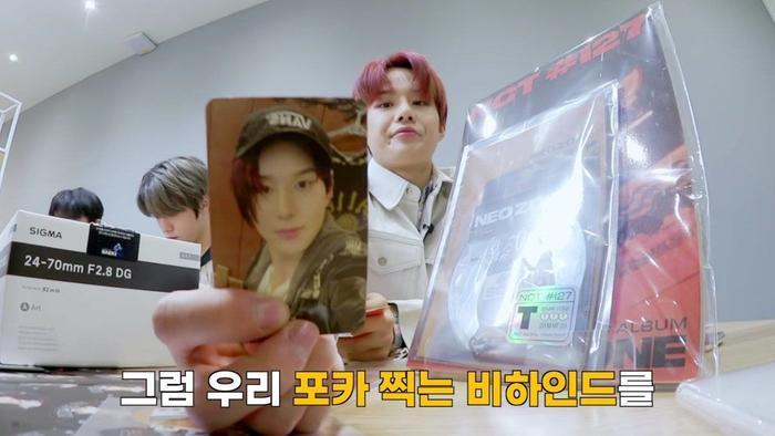Ngã ngửa trước cách NCT 127 hành hạ album của chính mình: Hết lấy card chơi đập thẻ đến cắt luôn ảnh của chính mình làmốp điện thoại ảnh 3