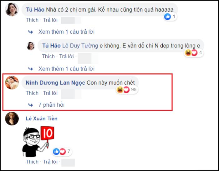 Bị trêu đùa, Ninh Dương Lan Ngọc lên tiếng cảnh cáo quản lý.