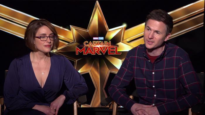 Bộ đôi đạo diễn của Captain Marvel phần đầu: Anna Boden và Ryan Fleck