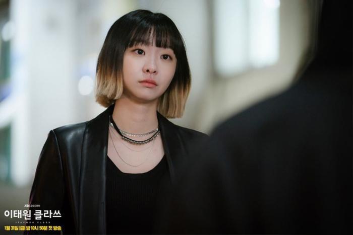 Tạo hình lạ mắt của Kim Da Mi trong Itaewon Class