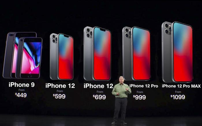 iPhone 12 dự kiến sẽ có giá khởi điểm 699 USD cho phiên bản tiêu chuẩn. (Ảnh: GregsGadgets)