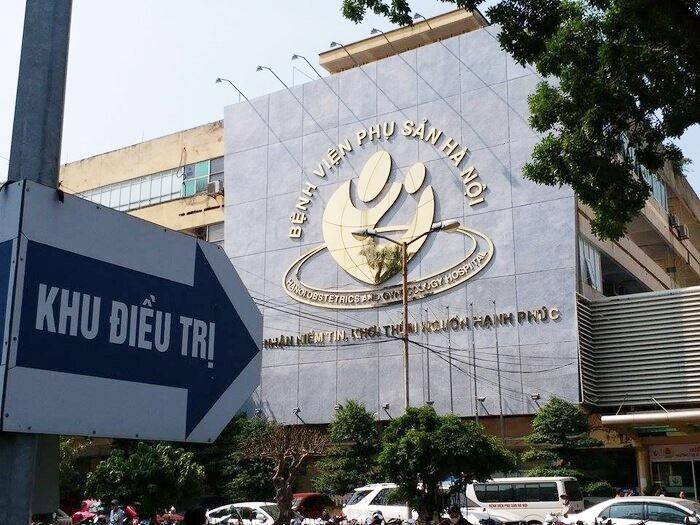 Bệnh viện Phụ sản Hà Nội.