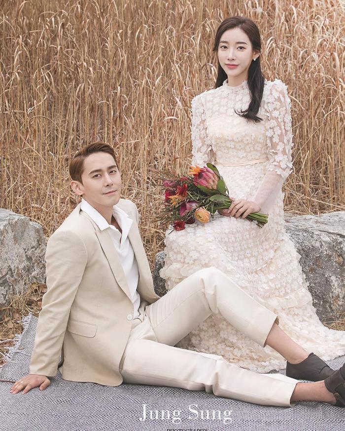 Kim Sang Hyuk và Song Da Ye.