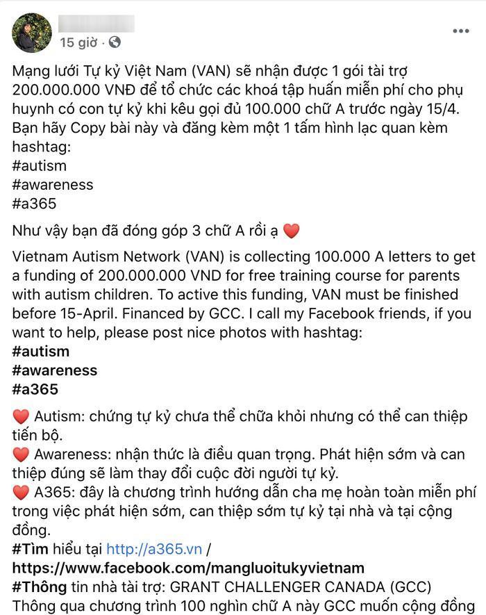 Thực hư về những bài đăng 'gom 100.000 chữ A' đang ngập tràn trên Facebook