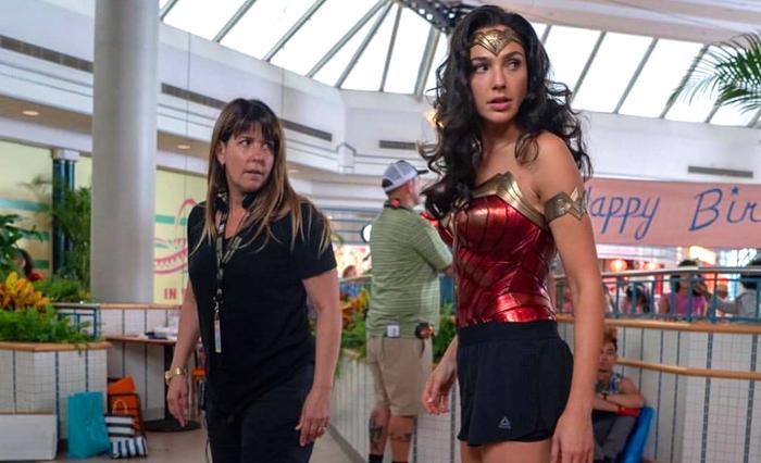 'Wonder Woman 1984': Rò rỉ bức ảnh của Diana Prince và Steve Trevor trong những năm 80