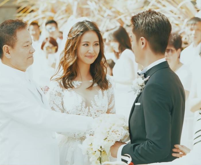 Loạt ảnh hiếm hoi chưa từng được tiết lộ trong ngày cưới của Hoắc Kiến Hoa và Lâm Tâm Như