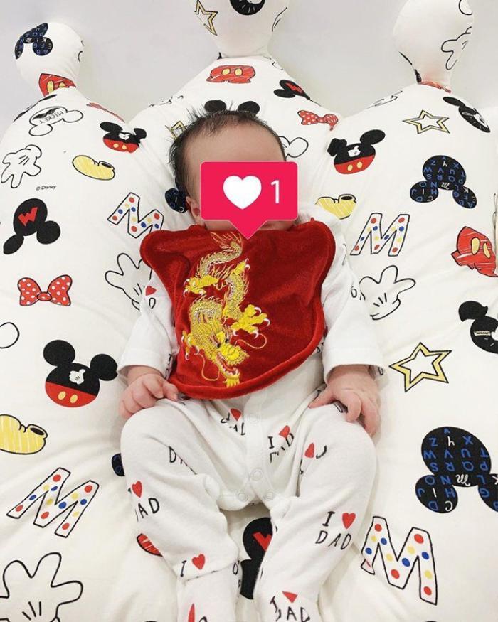 Trên trang cá nhân, Joyce Phạm hào hứng chia sẻ nhiều bức ảnh về cuộc sống bỉm sữa sau sinh.