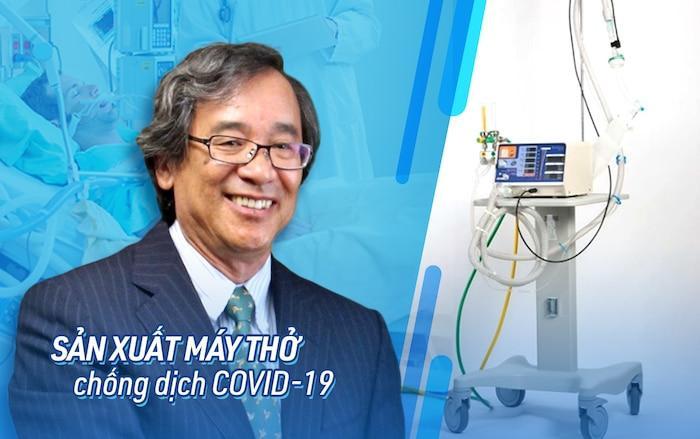 Ông Trần Ngọc Phúc là người sáng chế ra máy thở MV20 giúp Việt Nam chống dịch COVID-19