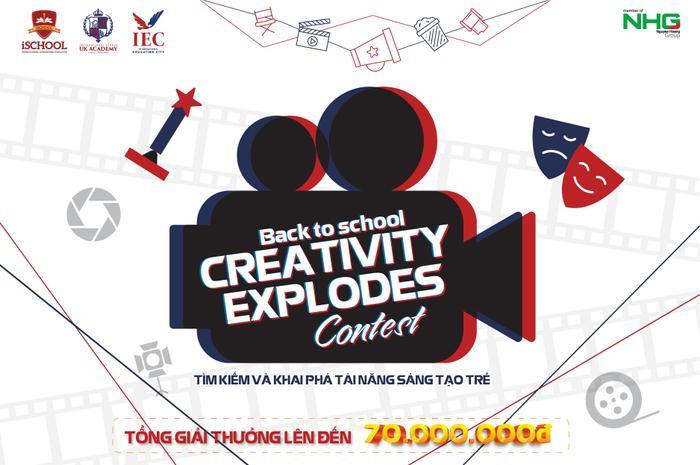 Bùng nổ sáng tạo cùng cuộc thi CREATIVITY EXPLODES ảnh 0