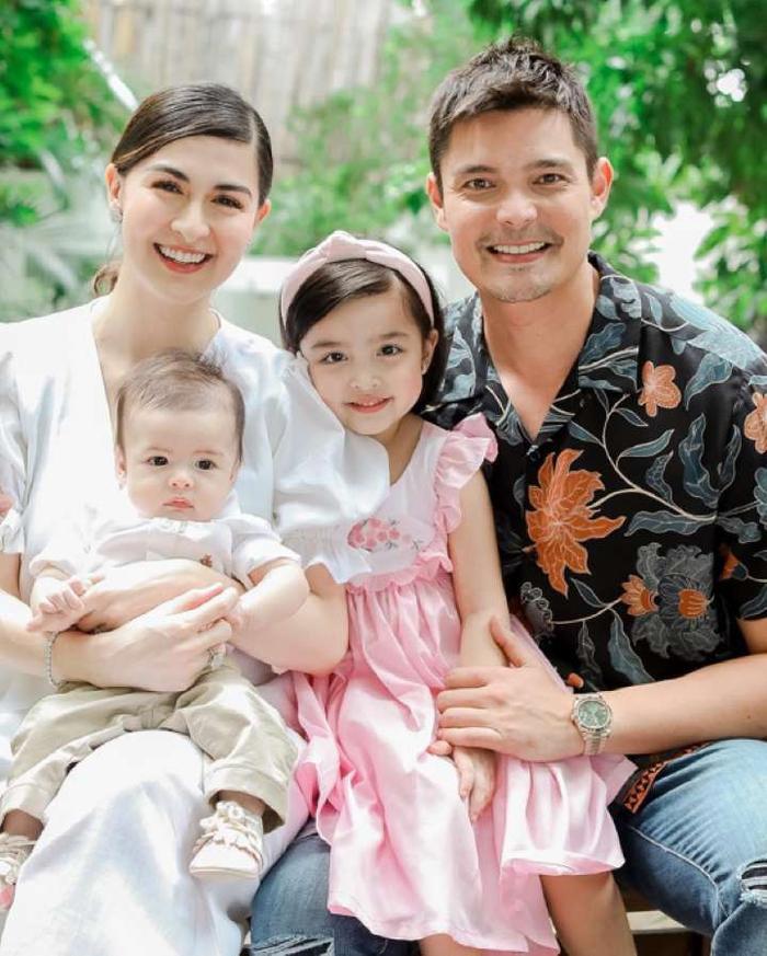 Marian Rivera không chỉ được biết đến là mỹ nhân đẹp nhất Philippines mà hơn thế cô còn được ngưỡng mộ vì sở hữu một gia đình hạnh phúc, con trai thứ hai của người đẹp cũng vừa tròn một tuổi cách đây vài tuần