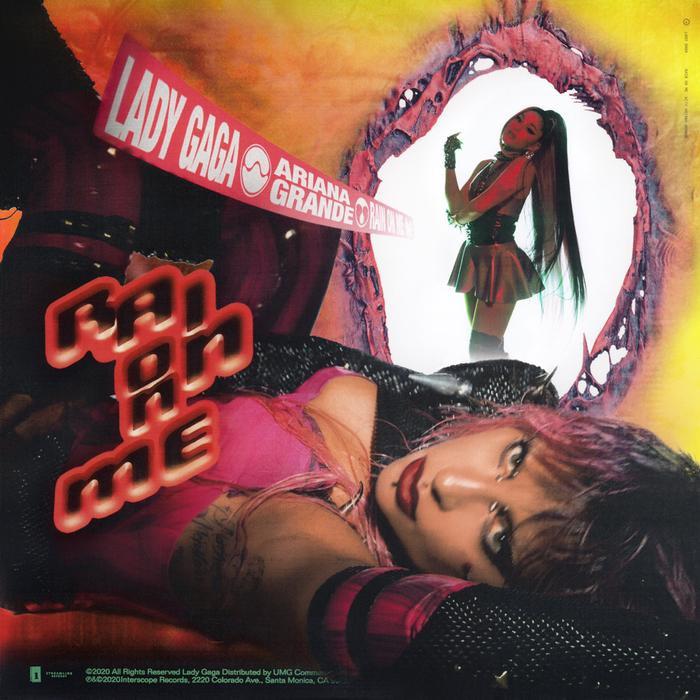 Bìa single cho Rain On Me.