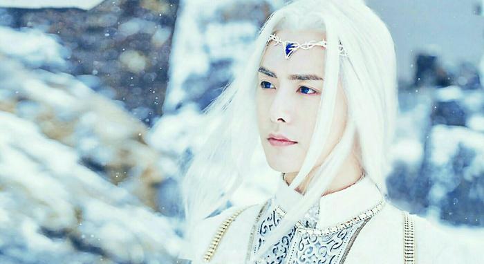 Hút hồn trước những mỹ nam tóc trắng đẹp trai nhất của showbiz Hoa ngữ ảnh 2