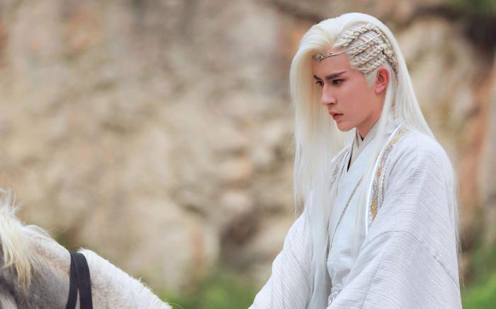 Hút hồn trước những mỹ nam tóc trắng đẹp trai nhất của showbiz Hoa ngữ ảnh 6