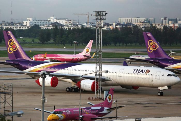 Thai AirwaysInternational từng là niềm tự hào của người Thái và là hình ảnh đại diện cho Thái Lan trên trường quốc tế. (Ảnh: BLOOMBERG)