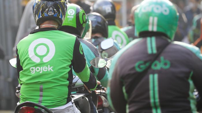Cùng Go-Jek, Grab đang là một trong những startup lớn nhất Đông Nam Á. (Ảnh: Nikkei)