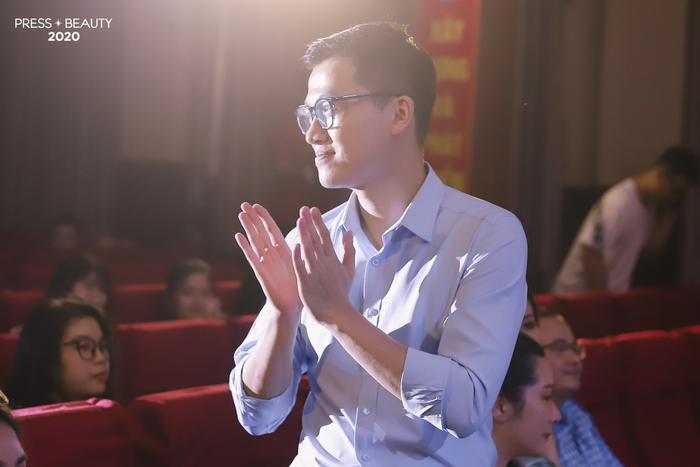 Sự góp mặt của MC Trần Ngọc - gương mặt thân thuộc trong nhiều sự kiện lớn nhỏ của Học viện
