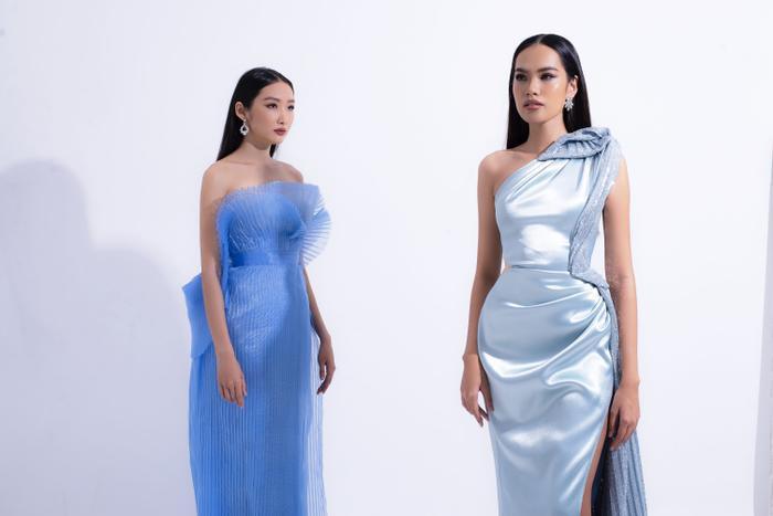 Hổ chiến tại MU Việt Nam 2019  Hoàng Phương khoe sắc với váy áo quyến rũ tột cùng ảnh 1