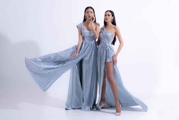 Hổ chiến tại MU Việt Nam 2019  Hoàng Phương khoe sắc với váy áo quyến rũ tột cùng ảnh 5