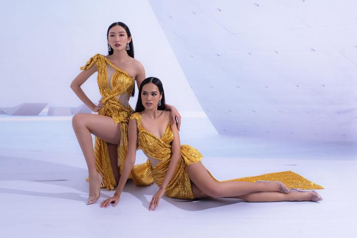 Hổ chiến tại MU Việt Nam 2019  Hoàng Phương khoe sắc với váy áo quyến rũ tột cùng ảnh 6
