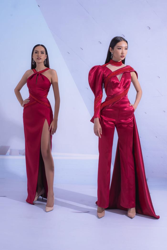 Hổ chiến tại MU Việt Nam 2019  Hoàng Phương khoe sắc với váy áo quyến rũ tột cùng ảnh 7