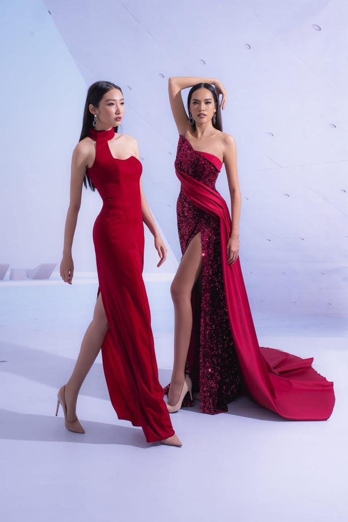 Hổ chiến tại MU Việt Nam 2019  Hoàng Phương khoe sắc với váy áo quyến rũ tột cùng ảnh 8