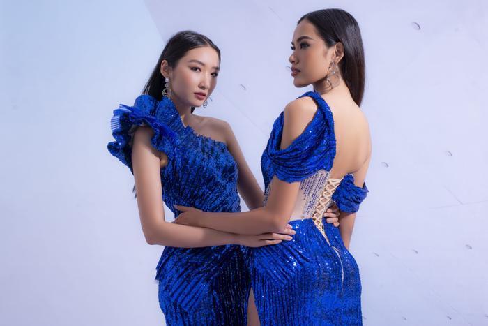 Hổ chiến tại MU Việt Nam 2019  Hoàng Phương khoe sắc với váy áo quyến rũ tột cùng ảnh 10