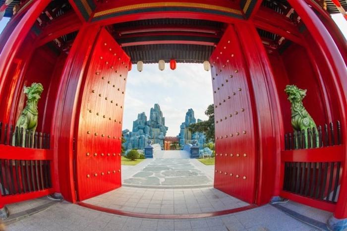 Những góc sống ảo chất ngất tại Công viên Nhật Bản đầu tiên tại Hà Nội ảnh 0