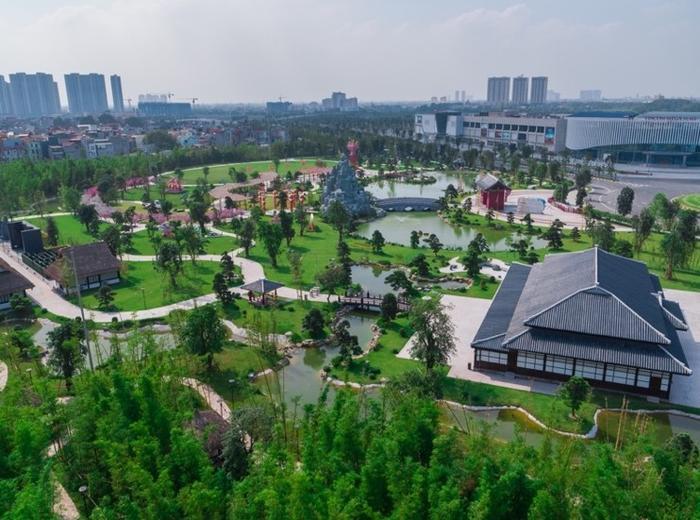 Những góc sống ảo chất ngất tại Công viên Nhật Bản đầu tiên tại Hà Nội ảnh 12