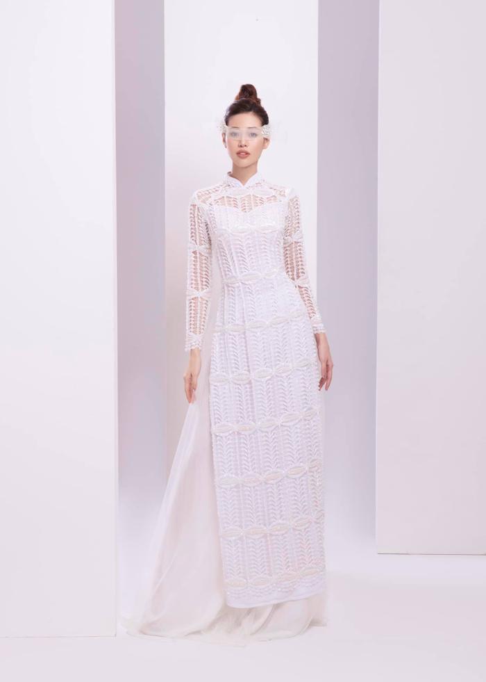 Minh Tú đột phá với National Costume trắng tinh khôi, Miss Áo dài Khánh Vân có làm nên chuyện? ảnh 11