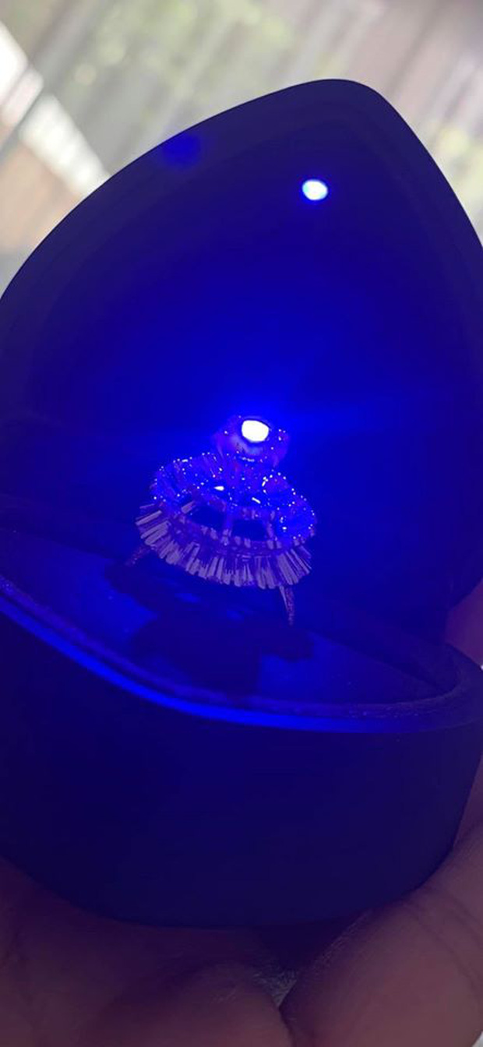 MC Vân Hugo gây choáng khi khoe được bạn trai cầu hôn bằng nhẫn kim cương khủng ảnh 1