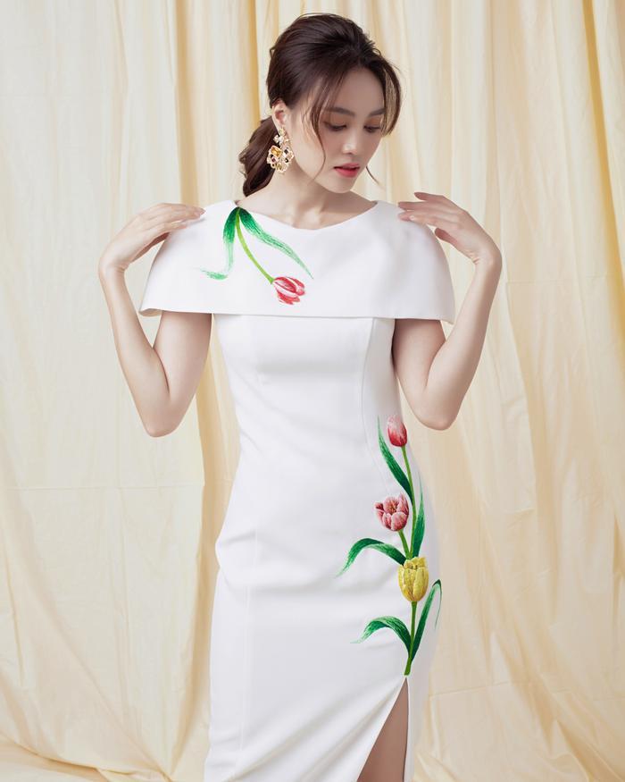 Ninh Dương Lan Ngọc diện sắc trắng tinh khôi, đẹp tựa giọt sương ban mai ảnh 4