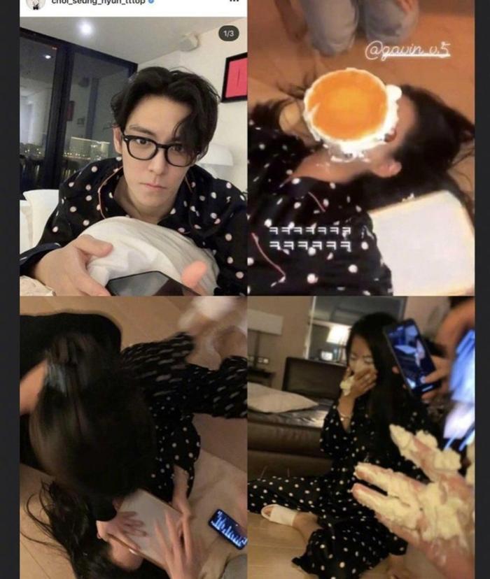 Lộ bằng chứng T.O.P (Bigbang)  Kim Ga Bin hẹn hò dù hơn kém 12 tuổi: YG tỉnh bơ đáp trả! ảnh 5